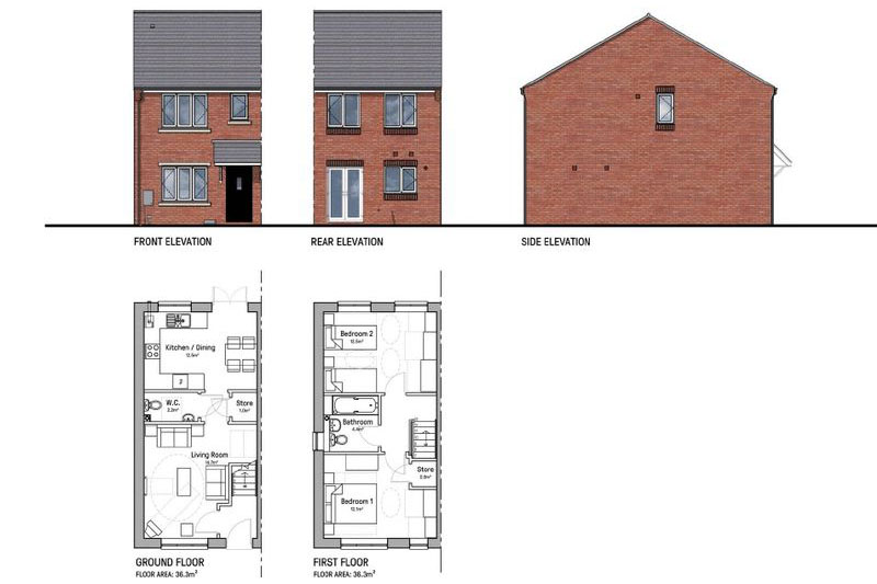 New Builds, Reddings Lane, Tyseley. B11 3HB